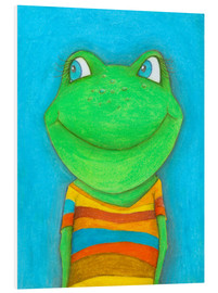 Foam board print  Good mood frog - Atelier BuntePunkt