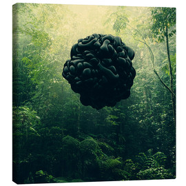 Canvas print  Blacks - Evgenij Soloviev