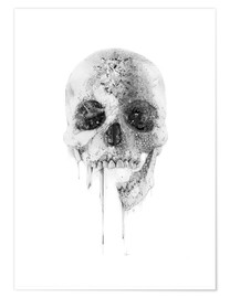 Premium poster  Crystal Skull - Alexis Marcou