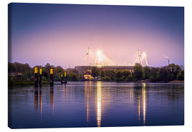 Canvas print  Bremen Stadium - Tanja Arnold Photography