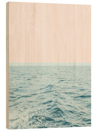 Wood print  Sea breeze - Uma 83 Oranges