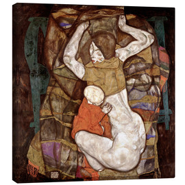 Egon Schiele - Young mother