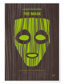 Premium poster No647 My The Mask minimal movie poster