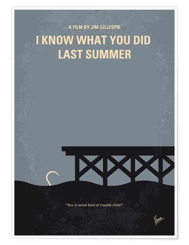 Premium poster I Know What You Did Last Summer