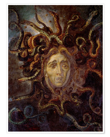 Premium poster Head of Medusa