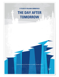 Premium poster My The Day After Tomorrow minimal movie poster