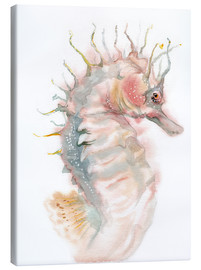 Canvas print  Seahorse - Verbrugge Watercolor