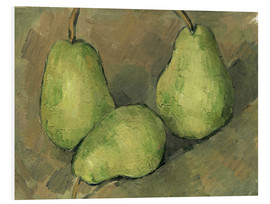 Paul Cézanne - Three Pears