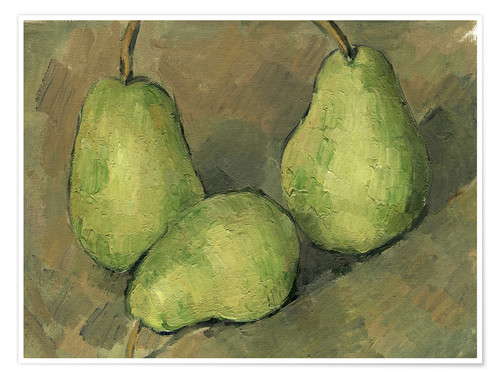 Premium poster Three Pears