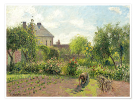 Premium poster The Artist's Garden at Eragny