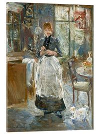Acrylic print  In the Dining Room - Berthe Morisot