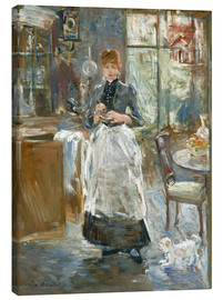 Canvas print  In the Dining Room - Berthe Morisot