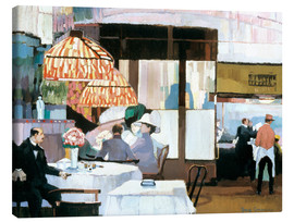 Canvas print  In a Café - Josse Goossens