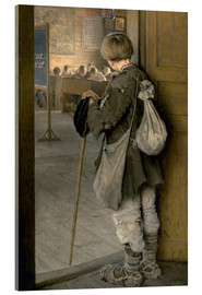 Acrylic print  At School Doors - Nikolay Bogdanov-Belsky