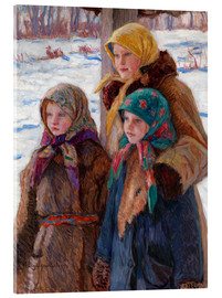 Acrylic print  The Three Sisters - Nikolay Bogdanov-Belsky