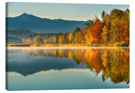 Canvas print  Autumn at Ostersee - Denis Feiner