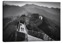 Canvas print  The great wall - Denis Feiner