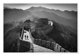 Premium poster  The great wall - Denis Feiner