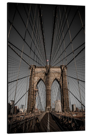 Aluminium print  Brooklyn Bridge - Denis Feiner