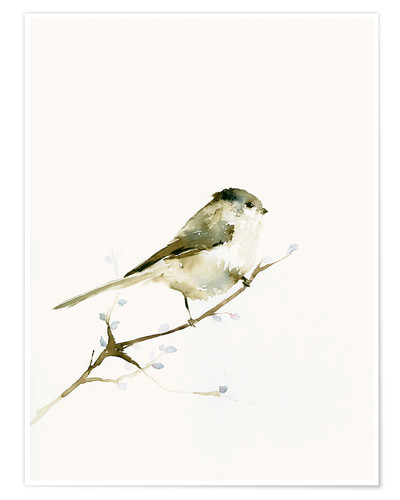 Poster Long-tailed tit