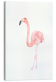 Canvas  Flamingo - Dearpumpernickel