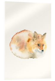 Acrylic glass  Fox - Dearpumpernickel