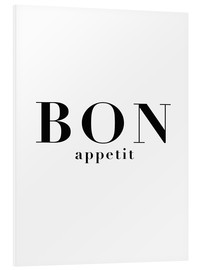 Foam board print  Bon Appetit - Finlay and Noa