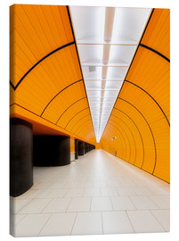 Canvas  Marienplatz  subway station in Munich - Dieter Meyrl