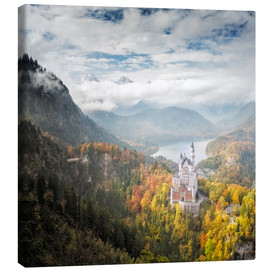 Dieter Meyrl - Neuschwanstein Castle at Autumn