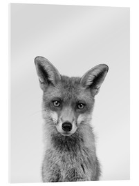 Acrylic print  Sly eyes - Finlay and Noa