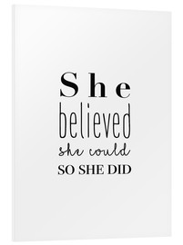 Forex  She Believed She Could So She Did - Finlay and Noa