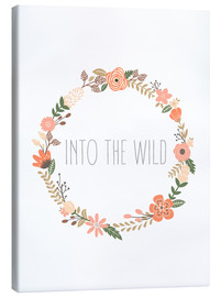 Canvas print  Into The Wild - Finlay and Noa