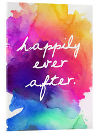 Acrylic print  Happily Ever After - Happy to the end of life - Finlay and Noa