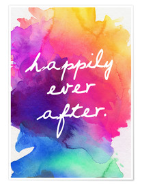 Premium poster Happily Ever After - Happy to the end of life