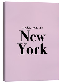 Canvas  Take Me To New York - Finlay and Noa