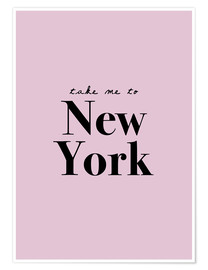 Poster  Take Me To New York - Finlay and Noa