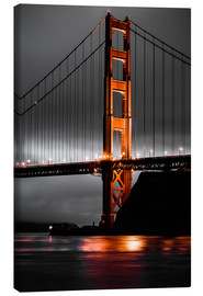 Canvas print  Golden Gate - Denis Feiner