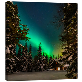 Canvas print  Cozy lodge - Denis Feiner