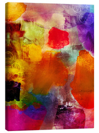 Canvas print  Club of Roses II - Wolfgang Rieger