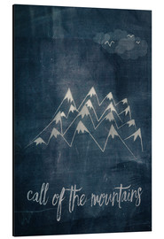 Aluminium print  call of the mountains - Sybille Sterk