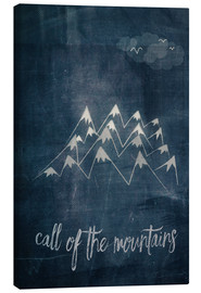 Canvas print  call of the mountains - Sybille Sterk