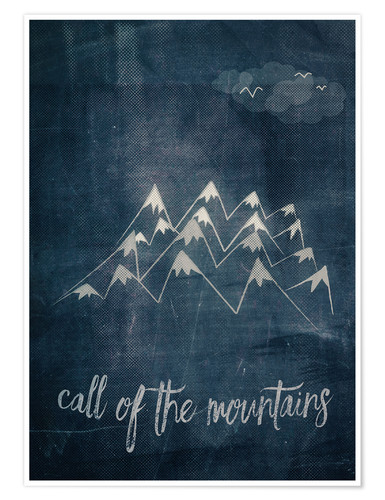 Poster call of the mountains