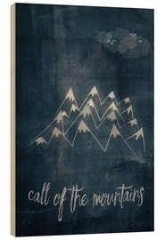 Wood  call of the mountains - Sybille Sterk
