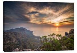 Canvas print  Table Mountain - Salvadori Chiara