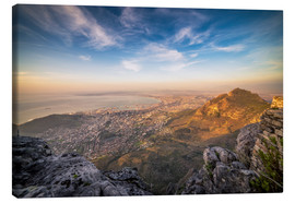 Canvas print  Table Mountain View - Salvadori Chiara