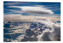 Acrylic print  Riding clouds - Denis Feiner