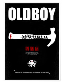 Premium poster oldboy - Minimal Film Movie Poster Alternative