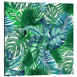 Aluminium print  new tropic life 2 - Mark Ashkenazi
