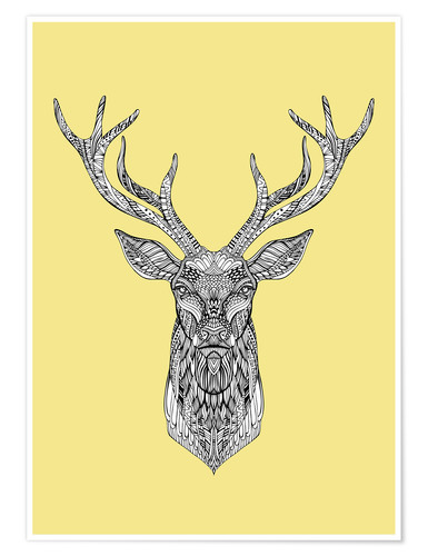 posters affiches de deer posterlounge. Black Bedroom Furniture Sets. Home Design Ideas