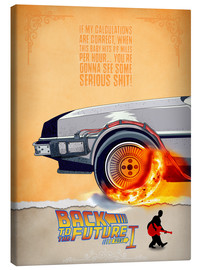Canvas print  Back to the Future - HDMI2K
